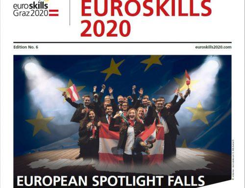 Die brandneue EuroSkills-Zeitung