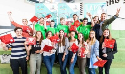 Die neue MySkills-App nur für Lehrlinge wurde kürzlich im Talentcenter der WKO Steiermark präsentiert.