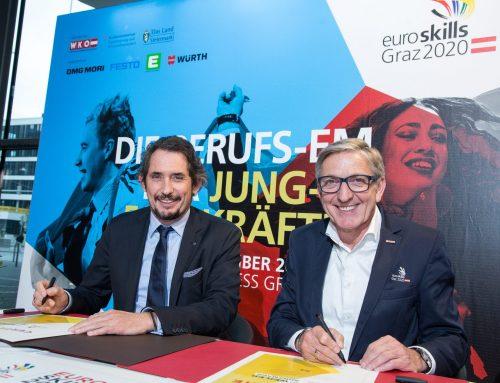 Weiler und Kunzmann – Gold-Sponsoren bei EuroSkills 2020