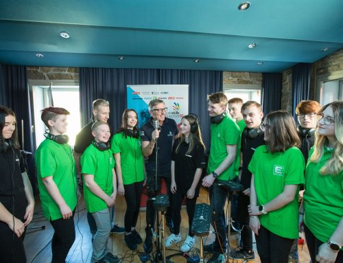 Excitement fills the air with the launch of the new euroskills 2020 anthem