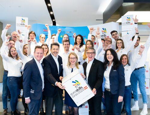 Hoher Besuch im EuroSkills 2020-Office