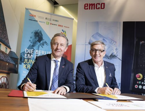EMCO ist als Diamant-Sponsor an Bord von EuroSkills 2020