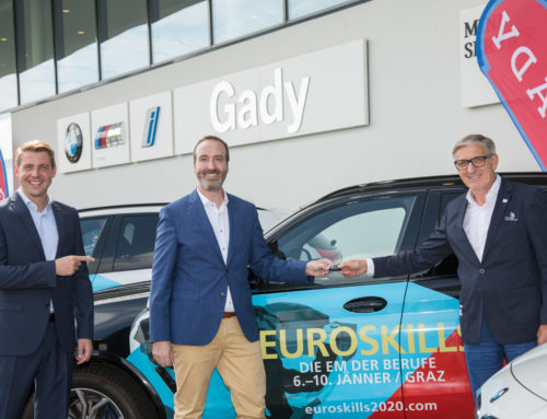 BMW Austria supports EuroSkills 2020 with nine vehicles