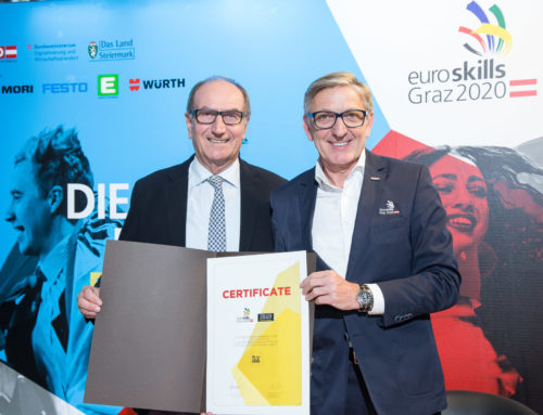 Zoller supports EuroSkills as a silver sponsor